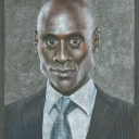 Lance Reddick Believable Caricature