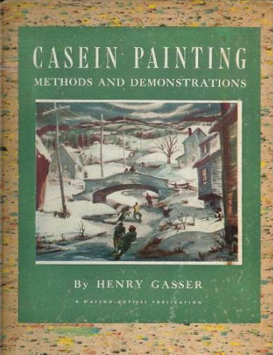 Casein Painting Cover