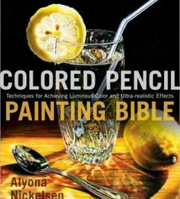 colored pencil painting bible front
