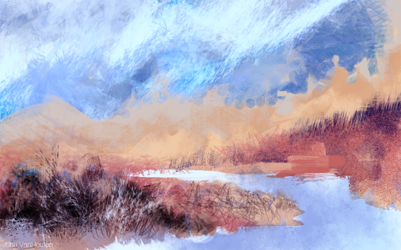 Marsh Speed Painting