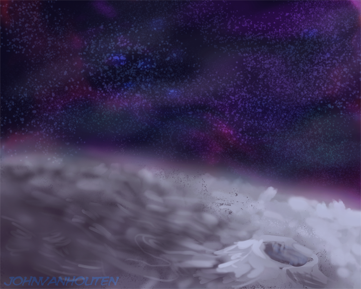 Space Speed Painting