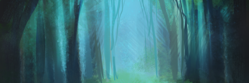 Spooky Forest Speed Painting