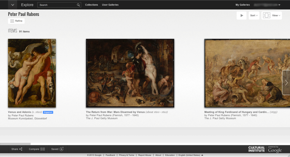 Google Cultural Institute - Peter Paul Rubens