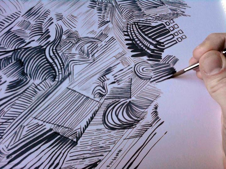 Inking Practice