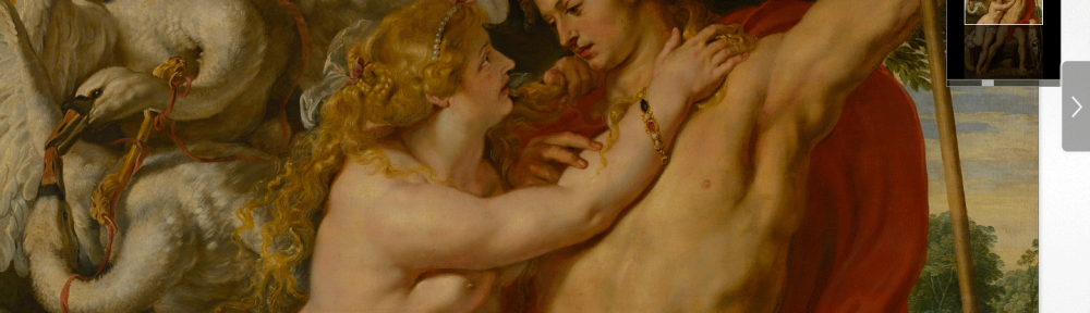 Peter Paul Rubens - Venus and Adonis Zoom 1