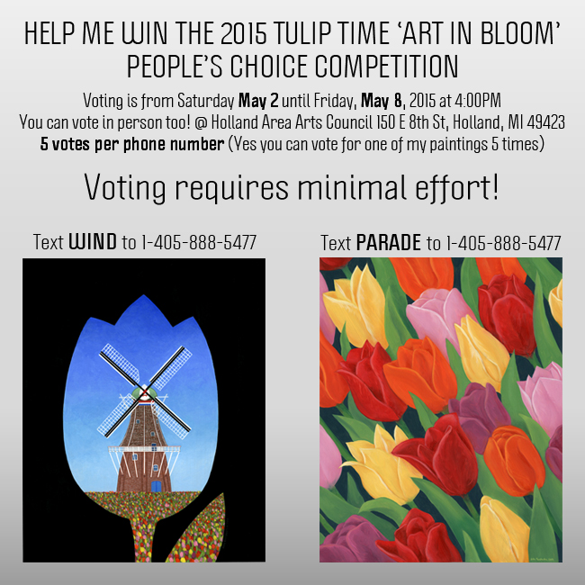 Tulip Time Voting